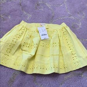 BRAND NEW 2t crewcuts skirt